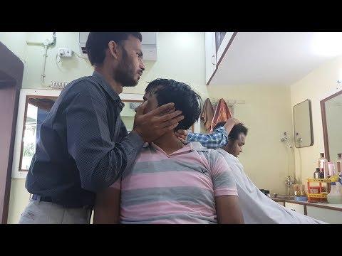 ASMR Amazing Eyebrow Cracking and Head Massage