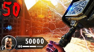BO4 IX ZOMBIES \'TWO BOX\' ROUND 50 CHALLENGE - BLACK OPS 4 ZOMBIES (Call of Duty BO4 Zombies)