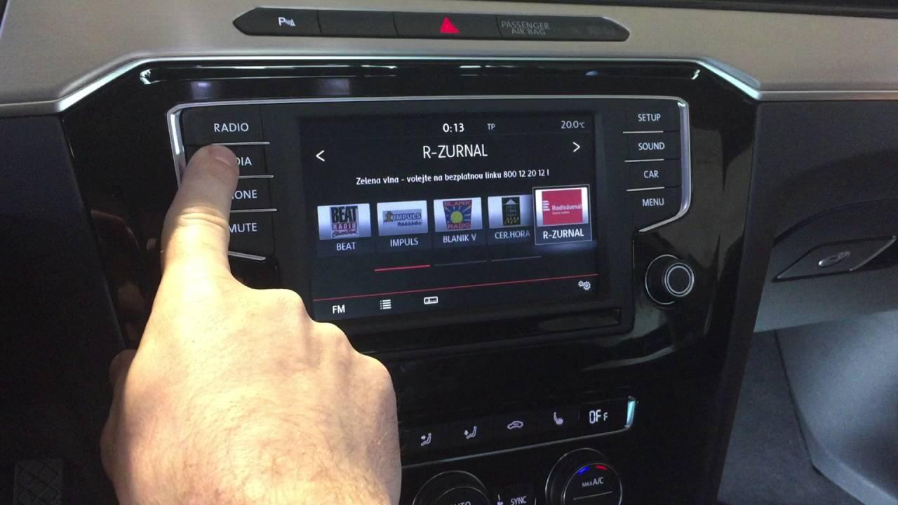Volkswagen Golf R >> Adaptiv - instalace navigace do nového VW Passat B8 ...