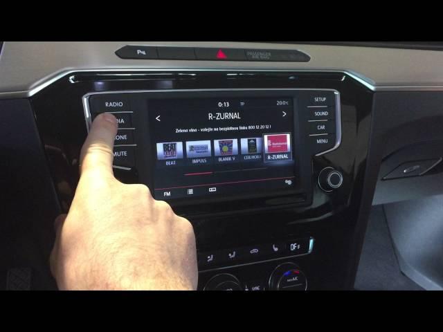 Adaptiv - instalace navigace do nového VW Passat B8 + odblok obrazu, přehrávání filmů