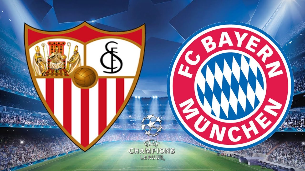 Image result for sevilla vs bayern munich