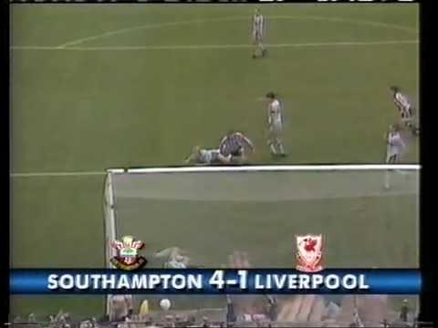 Southampton 4 - 1 Liverpool 1989/90