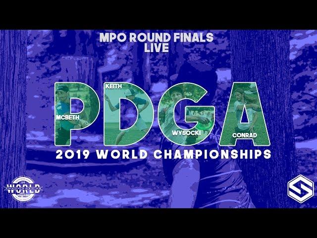 PDGA World Championships - MPO - FINAL ROUND - Back 10 Holes