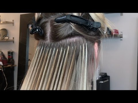 Great Lengths Hair Extension Transformation - Jackie