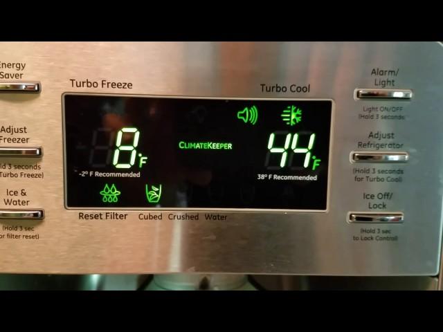 Ge refrigerator going crazy