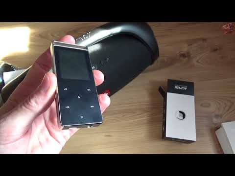 AGPTEK Bluetooth MP3 Player Unboxing and Review