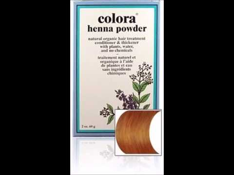 Colora Henna Powder Hair Color Light Brown 2oz 6 Pack Youtube