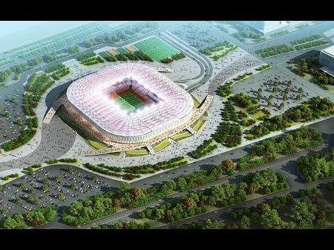 Стадион к ЧМ-2018 в Ростове-на-Дону