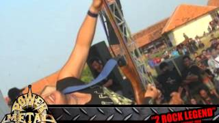 POWER METAL Cita Yang Tersita - LIVE in Wonokerto Pekalongan