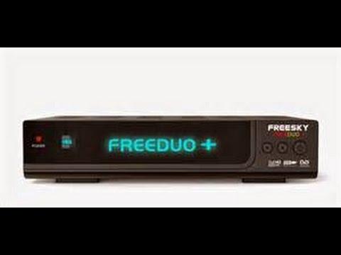 Resultado de imagem para freesky freeduo + atualização