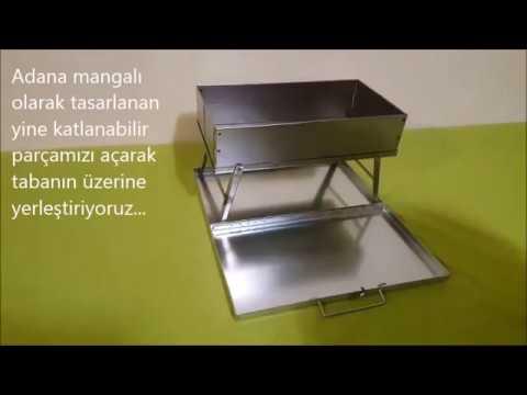 (Yeni Tasarım) Ayaklı Adana Mangalı  No: 2