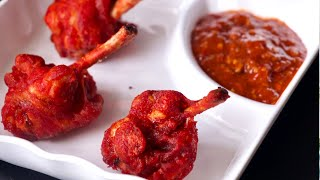 Restaurant Style Chicken Lollipop at Home,Tasty Indo-Chinese Drums of Heaven Recipe, Eid Special