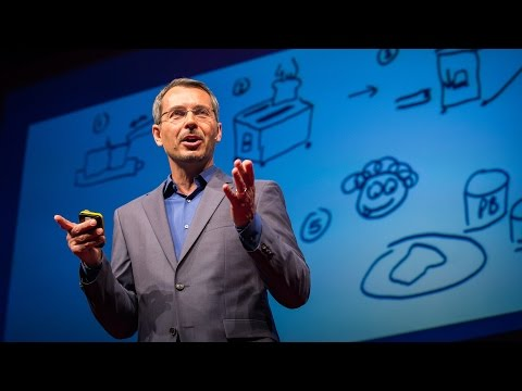 Tom Wujec: Got a wicked problem? First, tell me how you make toast ...