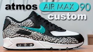 Atmos Air Max 90 Custom - Restorations with Vick