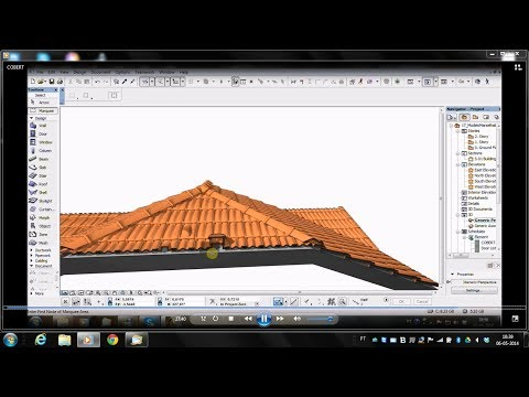 concepsysBIM - Roof tiling BIM objects.