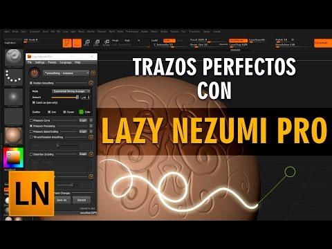 Trazos perfectos en 3D y 2D con Lazy Nezumi Pro