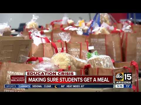 Teacher Walkouts: Arizona Communities Work Together To Keep Kids Fed