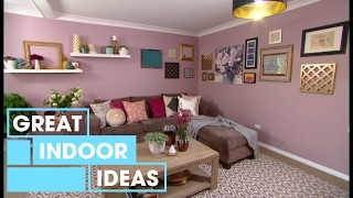 Designer lounge room makeover with the newest trend