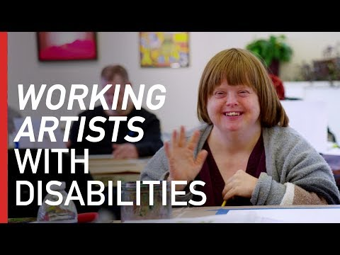 Helping People with Disabilities Become Working Artists | Freethink