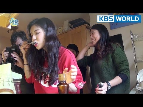 Rice cake soup prepared by the six siblings!! :D [One Night Sleepover Trip/ 2018.04.17]