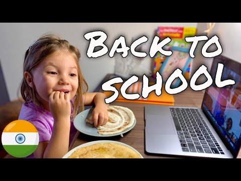 Expat family in Bangalore, India 🇮🇳 - back to school - Vlog week 33