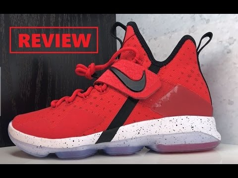 low priced d51f7 28fa1 NIKE LEBRON 14 RED BRICK ROAD SNEAKER REVIEW + PODCAST