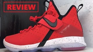 NIKE LEBRON 14 RED BRICK ROAD SNEAKER REVIEW + PODCAST