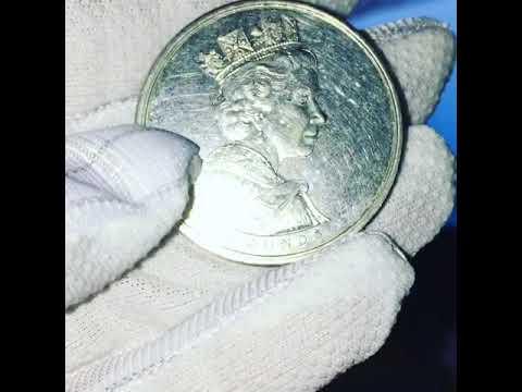 Five Pounds Coin Elizabeth 2/2002