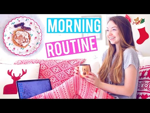 Winter Morning Routine! + Holiday Giveaway! | Meredith Foster