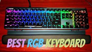 FNATIC Streak Keyboard with RGB colors
