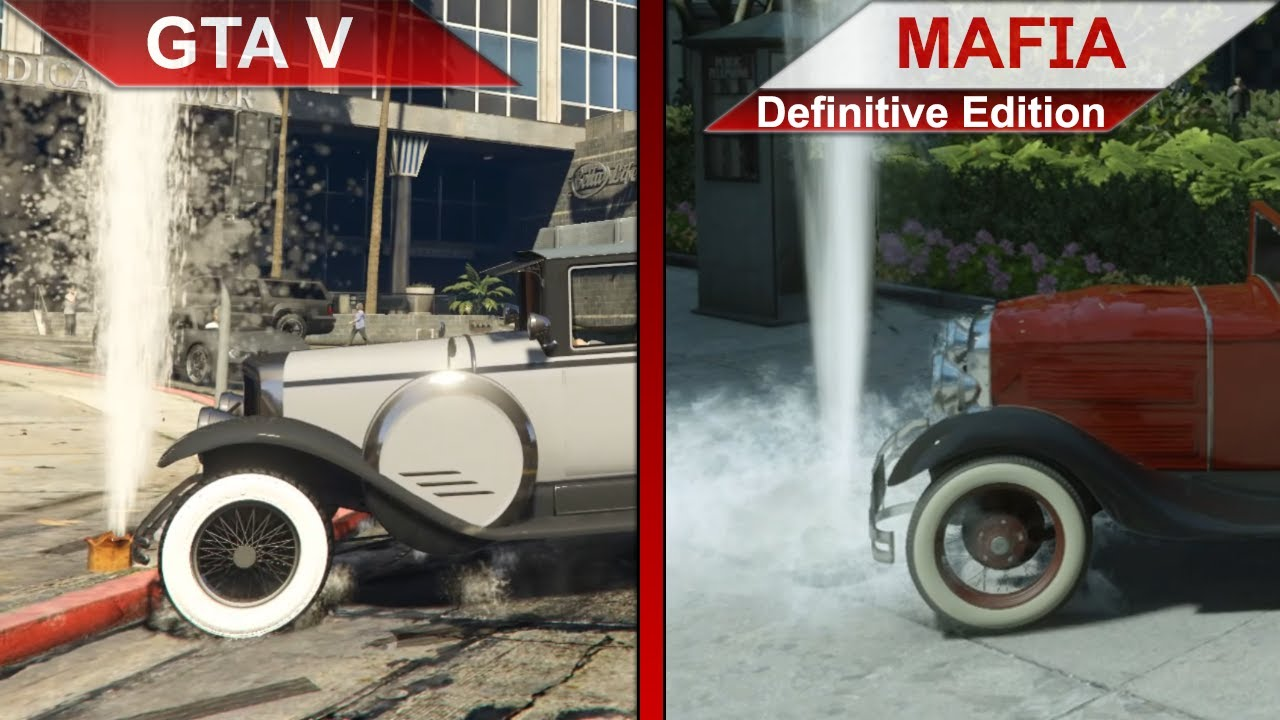 THE BIG COMPARISON | GTA V vs. Mafia: Definitive Edition | PC | ULTRA