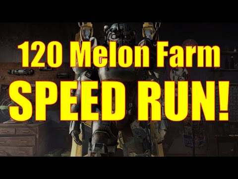Fallout 4 Gameplay - Melon Farm Speedrun - How to Set Up a C
