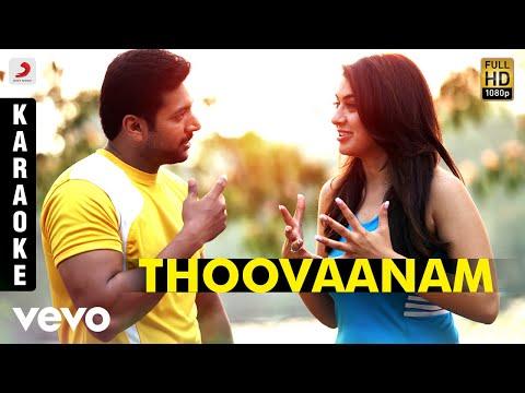 Romeo Juliet - Thoovaanam Karaoke   D. Imman   Jayam Ravi, Hansikha Motwani