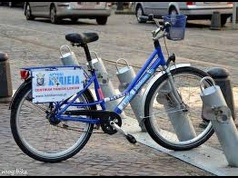 Как взять велосипед на прокат с помощью мобильного приложения в Польше