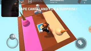 My first video of Roblox parkour I escaped by the giant biscuit was short (LoBinhoGame