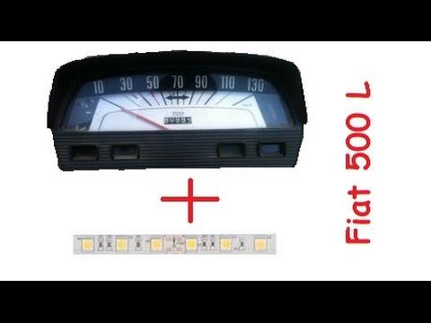 Come Modificare La Retro Illuminazione Del Quadro Strumenti Fiat 500 Epoca
