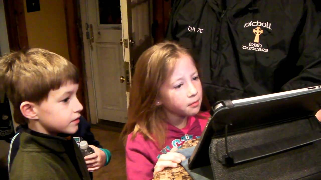 checking out the resort online with mom and dad - YouTube