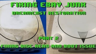 Fixing eBay Junk - Dreamcast Restoration - Part 2 - Disc Read and Boot Issue jun.k 検索動画 29