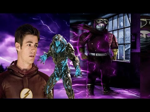 Is Accelerated Man Purple Lightning Key To Defeating Savitar? - The Flash Season 3