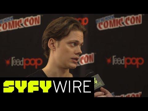 Bill Skarsgard & Castle Rock Cast, 'It's Unlike Anything Else'   New York Comic-Con 2017   SYFY WIRE