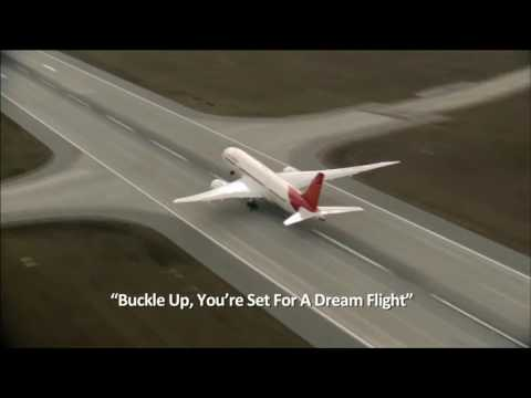 Air india inflight boarding music in new 7878 dreamliner