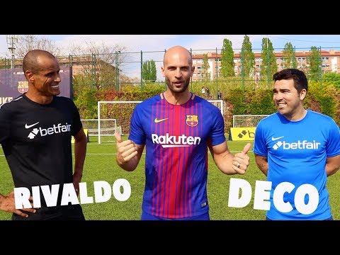 10 Ball Box Challenge vs RIVALDO & DECO!
