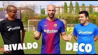 10 Ball Box Challenge vs RIVALDO & DECO!