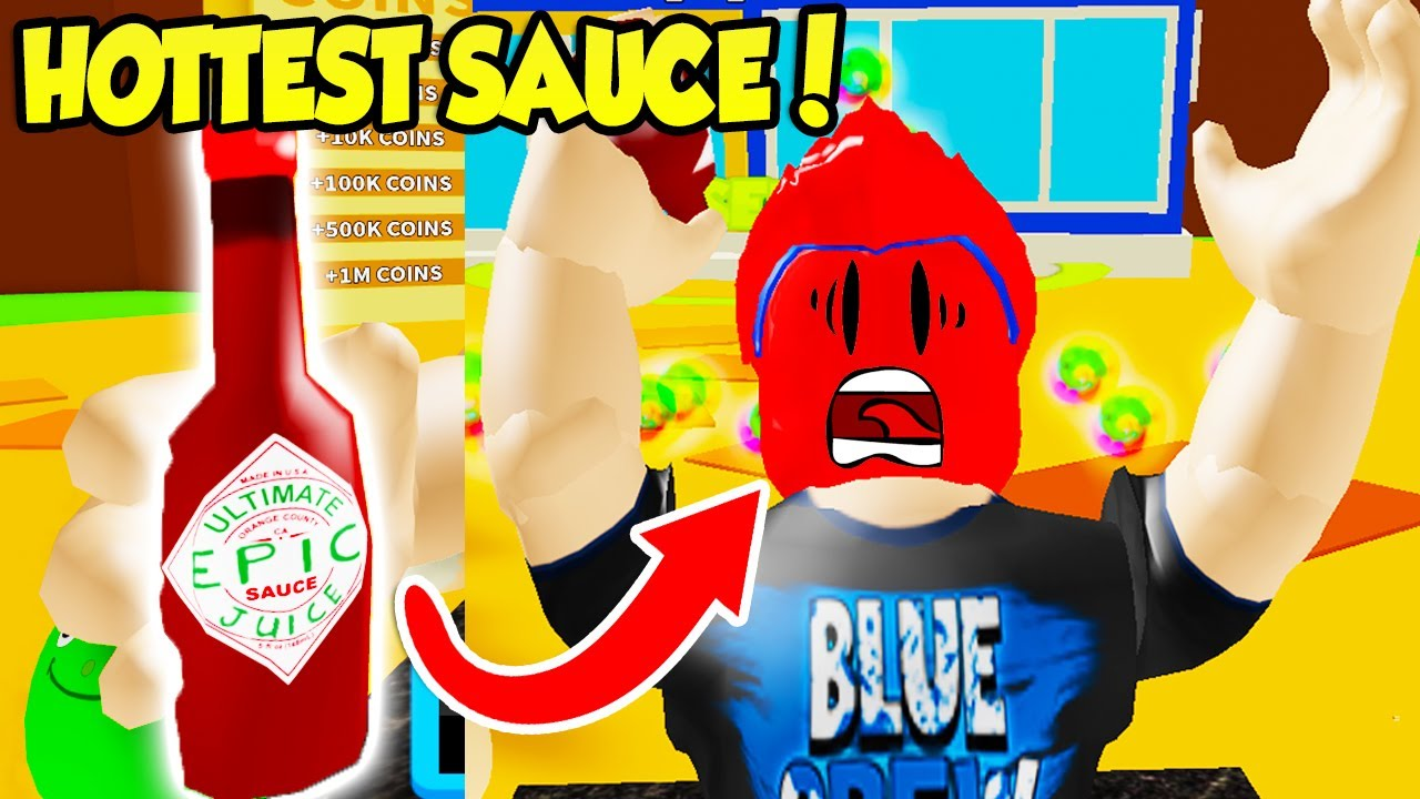 This Is The HOTTEST HOT SAUCE In HOT SAUCE SIMULATOR!! (Roblox)