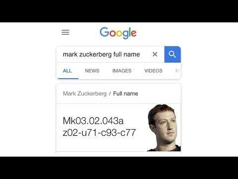 Googling Celebrity's Full Names