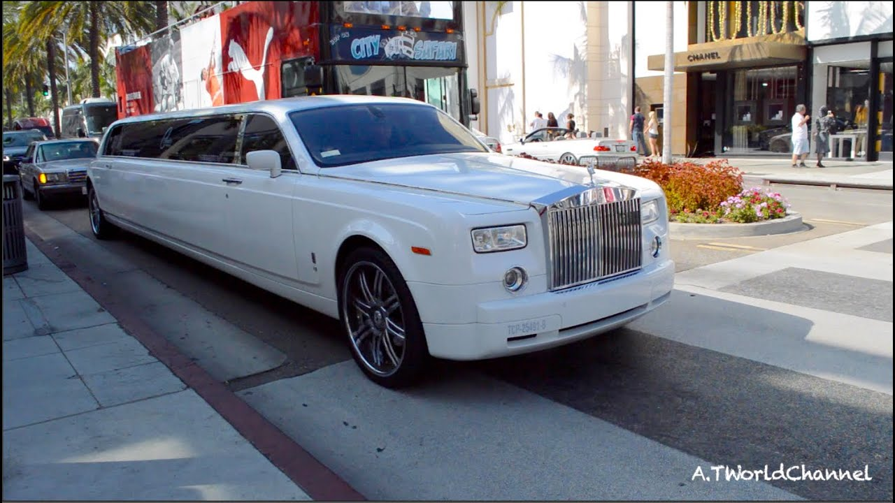 Super Long Rolls Royce Phantom Limosine
