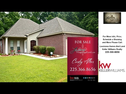 39192 Balmoral Dr, Prairieville, LA Presented by Louisiana Homes And Land.