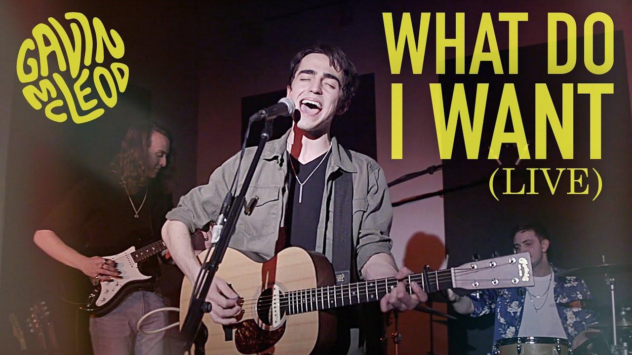 Gavin McLeod - What Do I Want [LIVE]