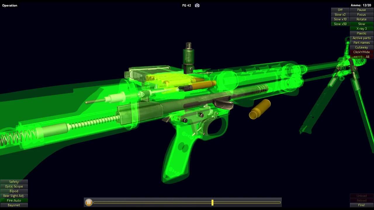 How a FG-42 Machine Gun Works (World of Guns)