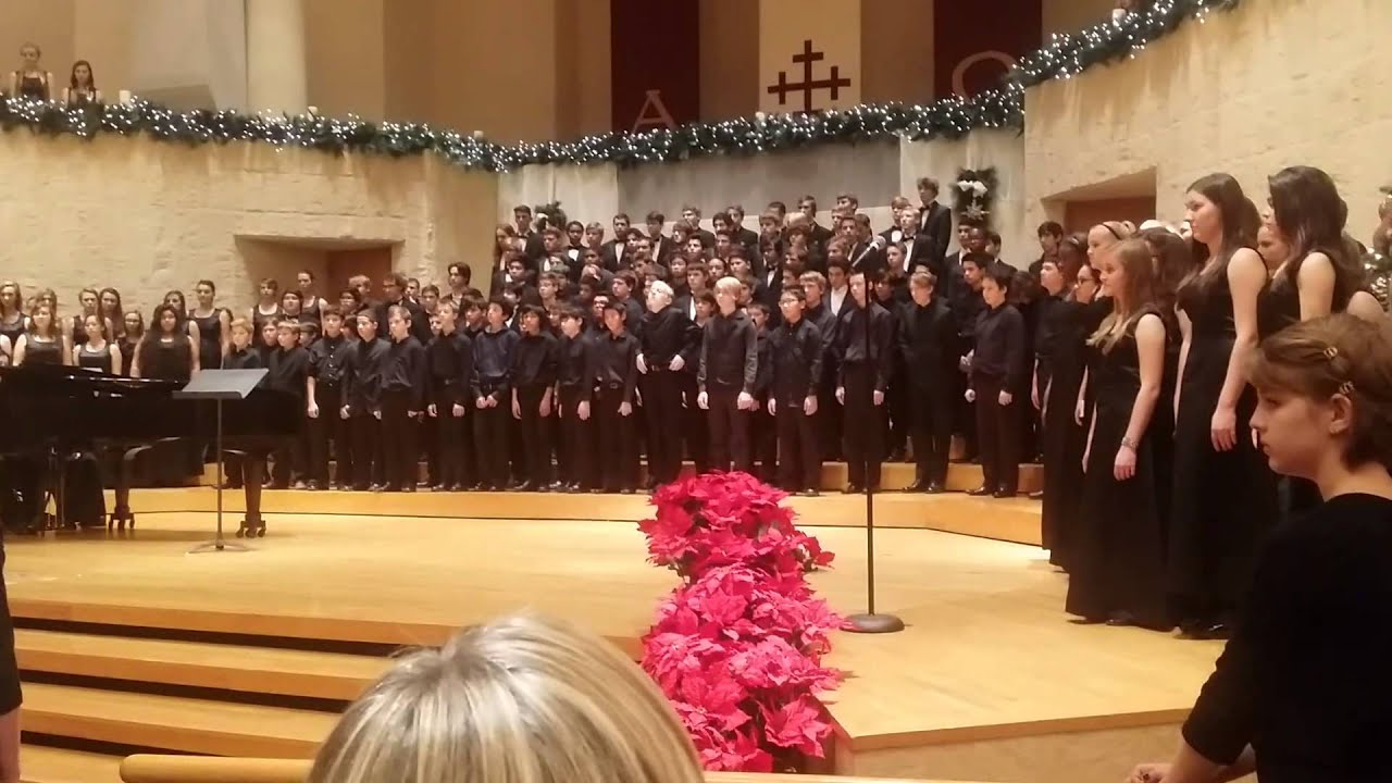Arizona School for the Arts Christmas Choral. - YouTube
